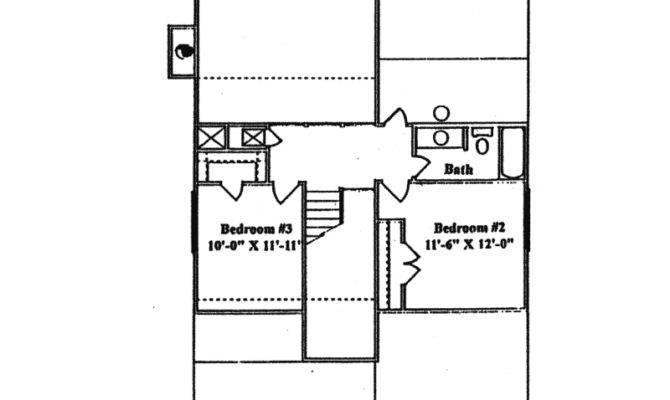 Saltbox House Plan Second Floor Plans More