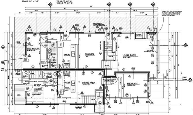 Sample Construction Plans Remodel New Floor