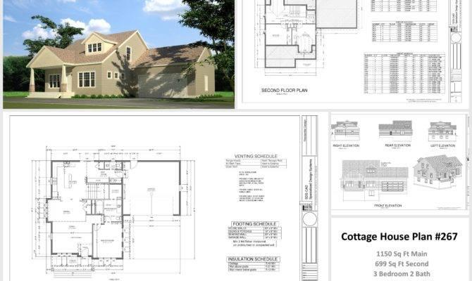 Sample Cottage House Plans Guest