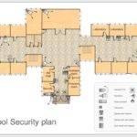 Sample Floor Plan School Security
