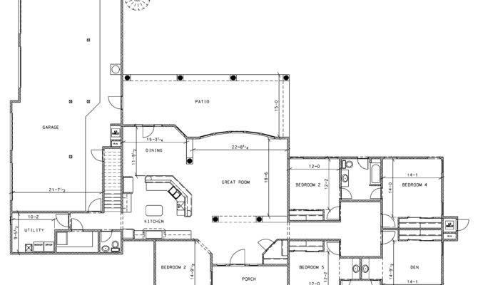 Sample Flyer Floor Plan Blogkaku House Plans Home
