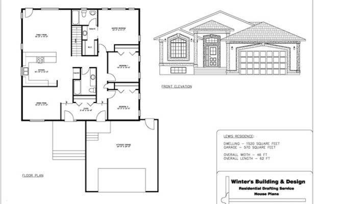 Sample House Plan Home Design Style