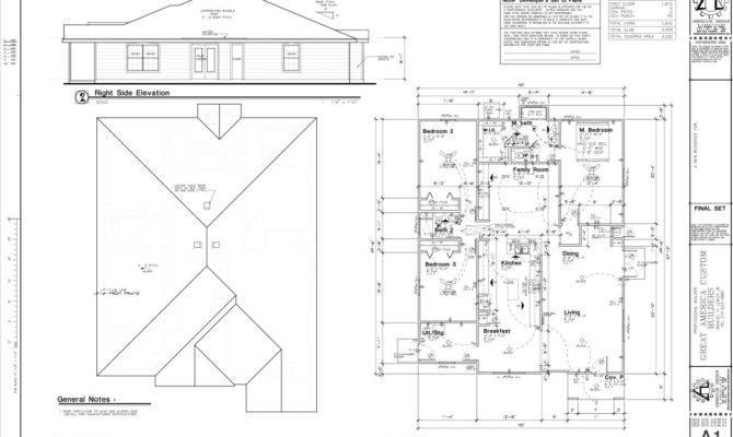 Sample Residential Floor Plans Amp Elevation Joy Studio Design