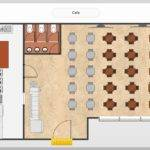Samples Floor Plan Landscape Design Sample Cafe