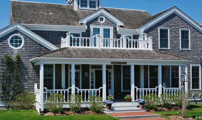 Sand Salt Shingle Style Architecture Holistic House