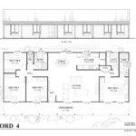 Sandford Met Kit Homes Bedroom Steel Frame Home Floor Plan