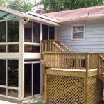 Sandstone Aluminum Frame Story Sunroom Gable Roof