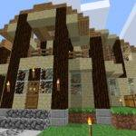 Sandstone House Design Survival Mode Minecraft Discussion