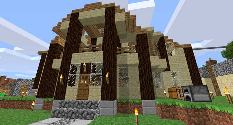 Sandstone House Design Survival Mode Minecraft Discussion Home