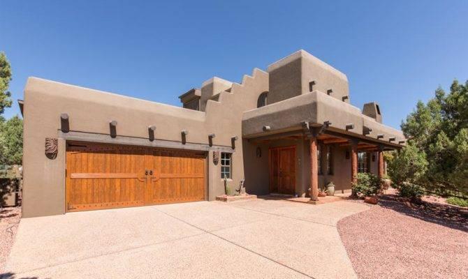 Santa Style Homes Also Known Pueblo Abode