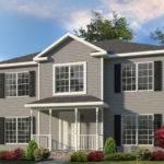 Saratoga Two Story Style Modular Homes