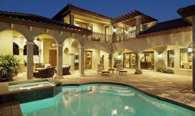 Sater Design Casoria Plan Mediterranean Pool Miami