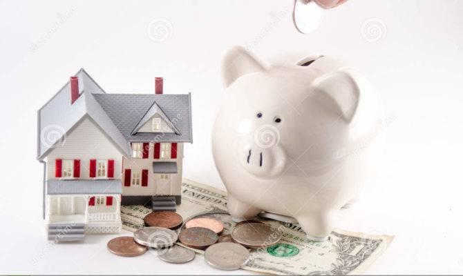 Saving Build Buy Home House Piggy Bank Coin