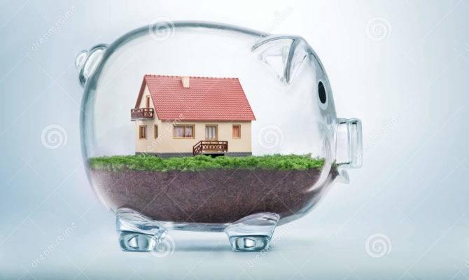 Saving Buy House Home Savings Concept