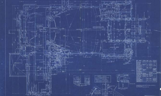Scanned Blueprints