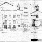 School Building Blueprints Larger
