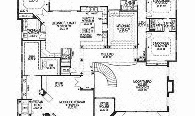 Scintillating Single Story Ranch Style House Plans