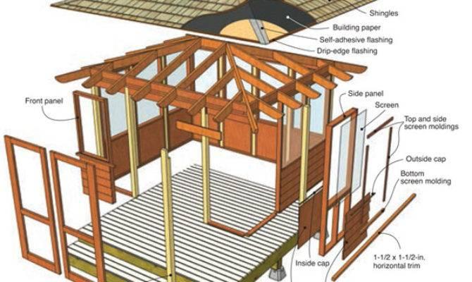 Screen House Plans Pdf