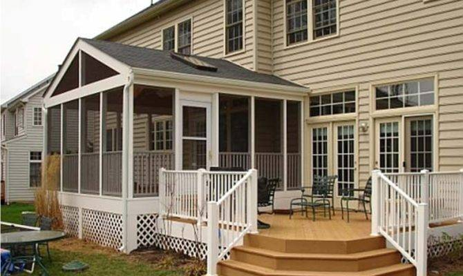 Screen House Plans Porch Designs Easy