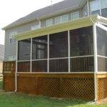 Screen Porch Screened Des Moines Easter Lake