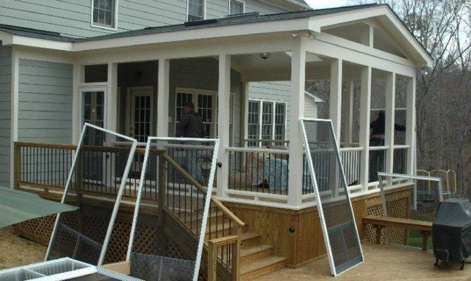 Screened Patio Pinterest Porch Ideas Porches Screens