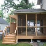 Screened Porch House Ideas Deck Design Backyard Decks Modern