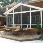 Screened Porch Plans Ideas Seating Set
