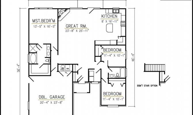 Search Rambler Home Plans Split Floor Patio
