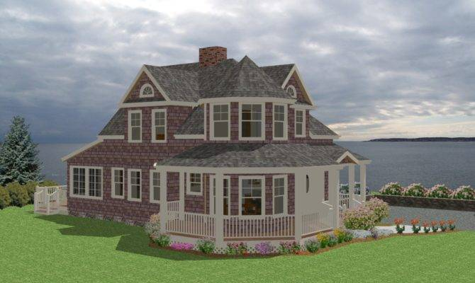 Seaside Cottage Traditional House Plan New England Country Cape Cod