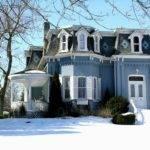 Second Empire Style House Exterior Design Victorian Pinterest