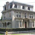 Second Empire Style House Historic Architecture Pinterest