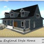 Second Life Marketplace New England Style Home