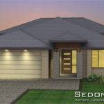Sedona Mki Tri Level Hip Roof Home Design Tullipan Homes