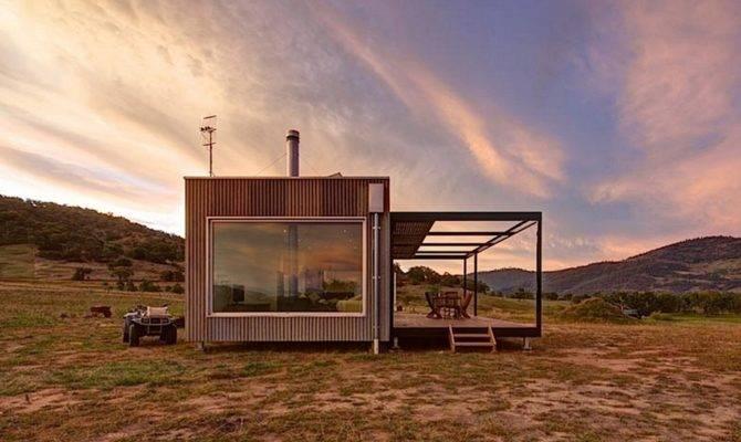 Self Sufficient Cabin Modscape Via Lunchbox Architect