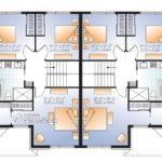 Semi Detached Homes Zen Contemporary Maison Laprise