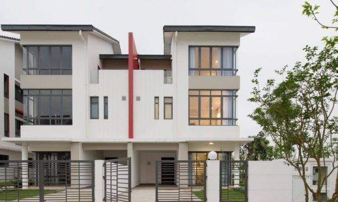 Semi Detached House Landmak Architecture