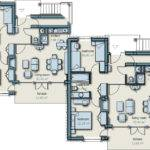 Semi Detached House Plans Floor
