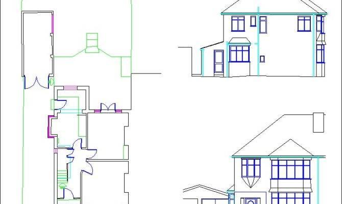 Semi Detached House Plans Floor
