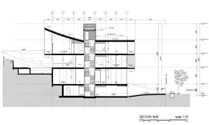 Sentosa House Plans Sections Elevations