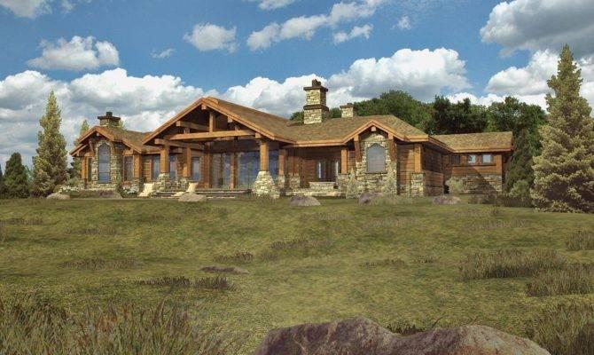 Serbagunamarine One Story Log House Plans Find Html