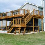 Series Two Story Deck Done Duke Construction