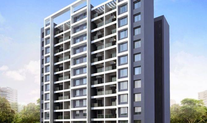 Shaikh Zuber Rashid Modern Residential Buildings Pune