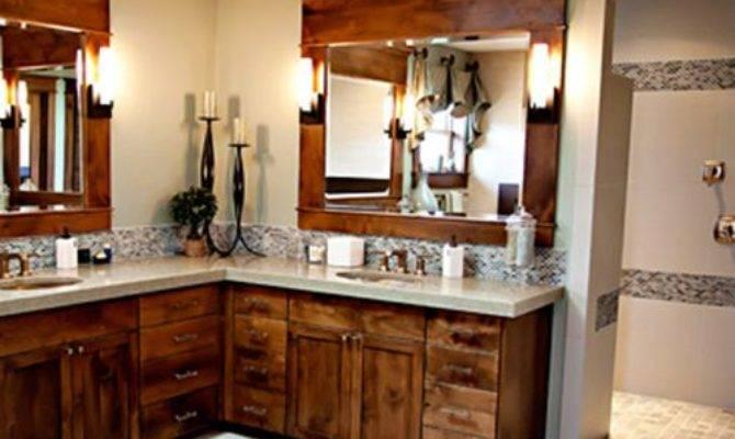 Shaped Bathroom Home Design Ideas Renovations Photos