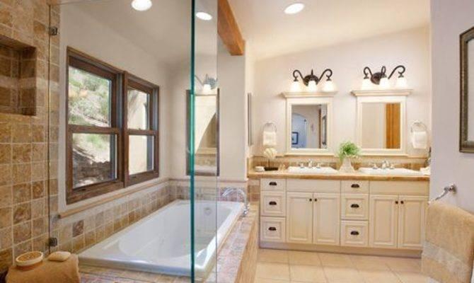 Shaped Bathroom Houzz