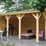 Shaped Deck Shed Gardens Ideas Backyard Inspiration Green Thumb