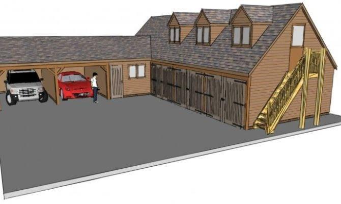 Shaped Garage Plans Smalltowndjs