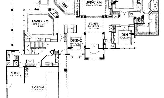 Shaped House Plans Attached