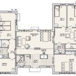 Shaped House Plans Central Courtyard