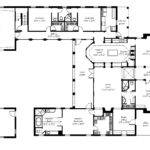Shaped House Plans Courtyard Port Inspiration Pinterest