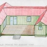 Shaped Kitchen House Plans Interior Exterior Doors